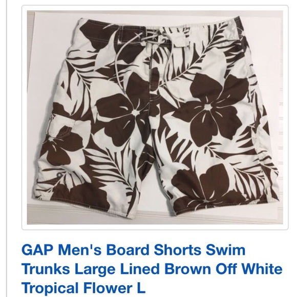 b41fe24902 GAP Swim   Men Trunks Longer Than Short Board Shorts   Poshmark